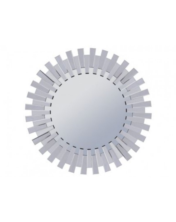 Libra Blackley faceted Sunflower Mirror